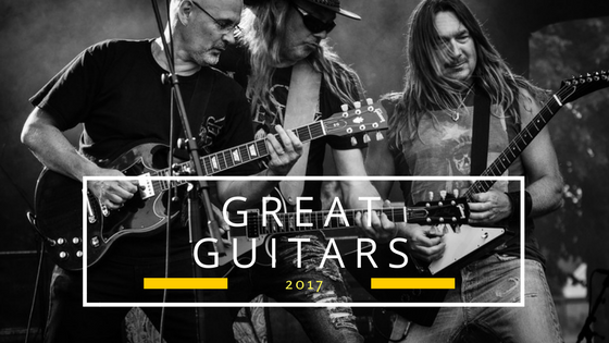 Great guitars 2017