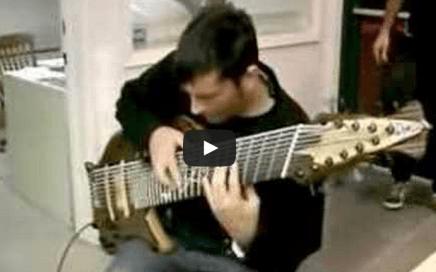 11 string bass guitar