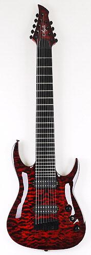 agile 9 string guitars electric guitar city. Black Bedroom Furniture Sets. Home Design Ideas