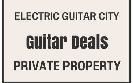 Guitar Deals