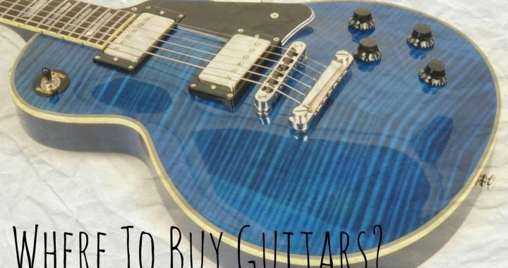 Where to buy guitars